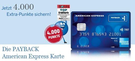 Unser Tipp des Monats: Dauerhaft kostenlose Payback American Express Karte inkl. 40€ Guthaben